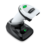 Zebra DS2278 1D/2D imager / WHITE / Bluetooth cordless with cradle (DS2278-SR6U2100PRW)
