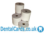 Direct  thermal dental appointment card - 54mm x 83mm - MULTIBUY 10 ROLLS (DentalMULTI)