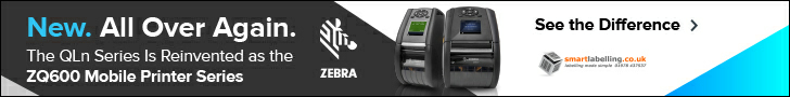 The Zebra QLn series is reinvented as the ZQ600 mobile printer series