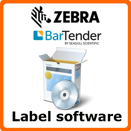 Zebra and Seagull Scientific BarTender labels software