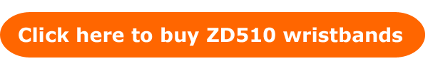 Button to buy Zebra ZD510 wristbands