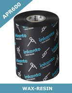 ARMOR Inkanto APR 600 wax resin thermal transfer ribbons – 40mm x 600m (T14985IO)