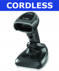 Cordless barcode scanners