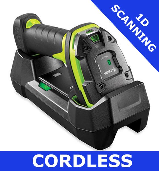 Zebra LI3678 ultra rugged scanner / extended range/ USB Kit includes cradle  (LI3678-ER3U42A0S1W)