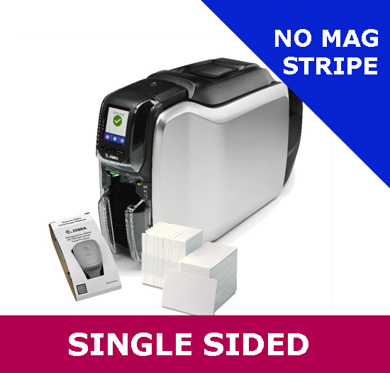 The difference between single-sided and dual-sided card printers