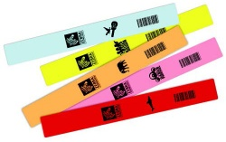Z-Band Fun and Z-Band Splash Wristbands