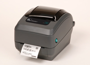 Zebra GX420t  with SERIAL & USB interface and ZebraNet 10/100 Printserver (GX42-102420-000)