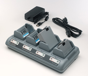 Zebra QL/RW/P4T UK Lithium - Ion QUAD Charger (AC18177-1)