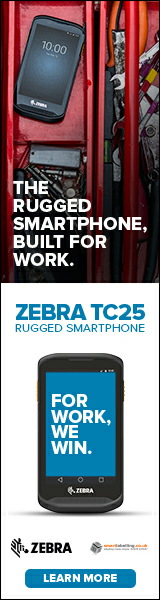 The rugged smartphone built for work - Zebra TC25 learn more