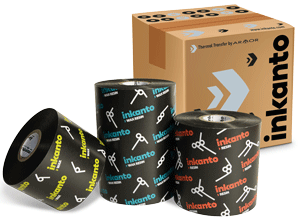 Image of Inkanto ribbons and their packaging