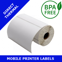 Zebra Z-Select 2000D labels (REMOVABLE ADHESIVE) 76mm x 44mm (3004840-T)