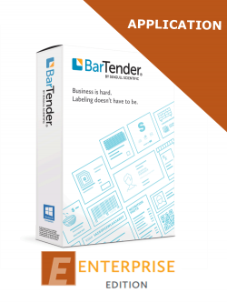 BarTender 2019 Enterprise Edition (BTE-APP) - ELECTRONIC DELIVERY - requires printer licence *** PLEASE CALL TO DISCUSS REPLACEMENT ***