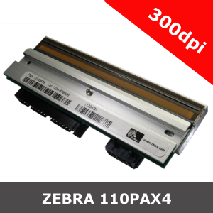Zebra 110PAX4 LH / 300dpi replacement printhead (G57242M)