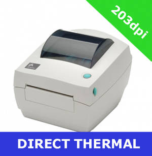 Zebra GC420d with PARALLEL, SERIAL and USB interfaces with DISPENSER (GC420-200521-000)