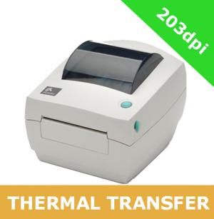 Zebra GC420t with PARALLEL, SERIAL and USB interfaces with DISPENSER (GC420-100521-000) *** DISCONTINUED - CALL FOR DETAILS ON REPLACEMENT ***