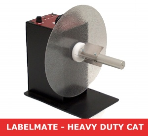 Labelmate CAT-3-STANDARD Heavy-Duty Label Rewinder / 76mm diameter core - LMR004