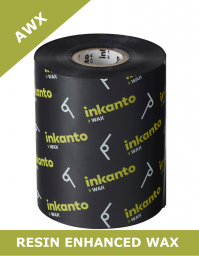 Armor AWX resin enhanced wax thermal transfer ribbons - 110mm x 300m (T47661ZA)