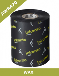 Armor AWR470 wax thermal transfer ribbons - 80mm x 450m (T11258ZA)