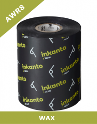 Armor AWR8 wax thermal transfer ribbons - 80mm x 300m (T52870IO)