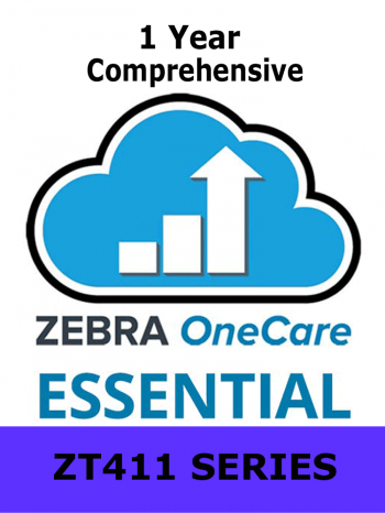 Zebra OneCare On-Site Essential / ZT411 Series / 1 Year / Next Business Day Onsite / Comprehensive (Z1A1-ZT411-1C0)