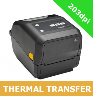 Zebra ZD420t 203dpi thermal transfer printer with BTLE, USB, USB Host, WLAN & BT (ZD42042-T0EW02EZ)