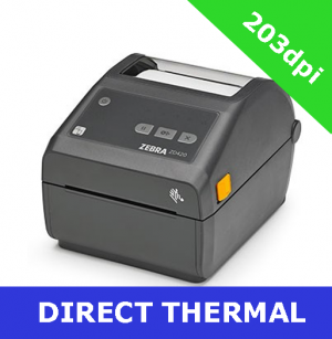 Zebra ZD420 203dpi direct thermal printer with BTLE, USB, USB Host, WLAN & Bluetooth (ZD42042-D0EW02EZ)