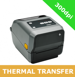 Zebra ZD620t 300dpi thermal transfer printer with BTLE, USB, USB Host, Serial, Ethernet, WLAN & Bluetooth - without LCD display (ZD62043-T0EL02EZ)