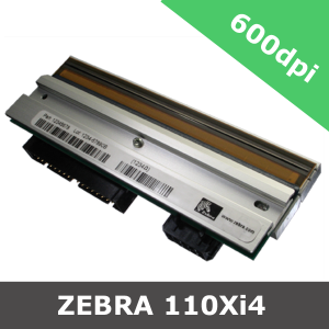Zebra 110Xi4 / 600dpi replacement printhead (P1004233)