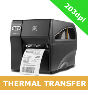 Zebra ZT220 (203dpi) THERMAL TRANSFER PRINTER with SERIAL and USB interfaces (ZT22042-T0E000FZ)