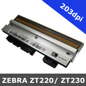Zebra ZT220 / ZT230 / 203dpi replacement printhead (P1037974-010)