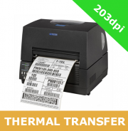 Citizen CL-S6621 203dpi thermal transfer printer with RS232, USB and parallel interfaces (1000836P)
