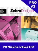 Zebra ZebraDesigner Pro V3 / Physical delivery of Activation Key Card (P1109020) - *** EXCLUSIVELY FOR USE WITH ZEBRA PRINTERS ***
