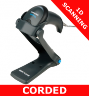 Datalogic QuickScan Lite QW2100 scanner / BLACK / USB kit / with stand (QW2120-BKK1S)