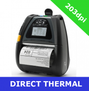 Zebra QLn420 direct thermal mobile printer / USB 2.0 and SERIAL (QN4-AU1AEM11-00)