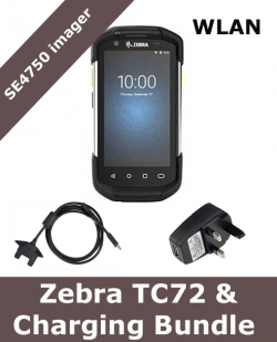 Zebra TC72 / SE4750 scanner / with charging bundle (TC72-CHARGING-BUNDLE)