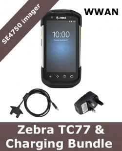 Zebra TC77 / SE4750 scanner / with charging bundle (TC77-CHARGING-BUNDLE)