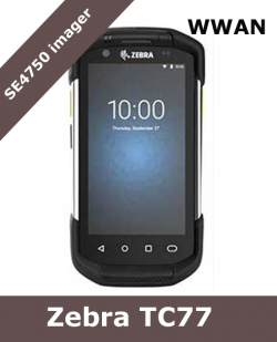 Zebra TC77 WWAN Ultra-Rugged Touch Computer / SE4750 scanner (TC77HL-5ME24BG-A6)