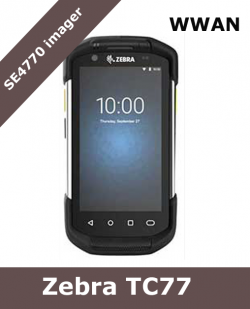 Zebra TC77 WWAN Ultra-Rugged Touch Computer / SE4770 scanner (TC77HL-5MJ24BG-A6)