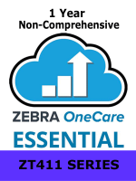 Zebra OneCare On-Site Essential / ZT411 Series / 1 Year / Next Business Day Onsite / Non-Comprehensive (Z1A1-ZT411-100)