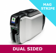 Zebra ZC300 dual sided card printer - MAGNETIC STRIPE capability with USB & ETHERNET interfaces (ZC32-0M0C000EM00)