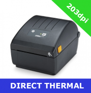 Zebra ZD220 DIRECT THERMAL PRINTER with USB interface and DISPENSER (ZD22042-D1EG00EZ)