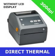 Zebra ZD621 300dpi direct thermal printer with USB, USB Host, Ethernet, Serial & BTLE5 - without LCD display (ZD6A043-D0EF00EZ)