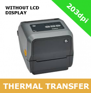 Zebra ZD621 203dpi thermal transfer printer with USB, USB Host, Ethernet, Serial, BTLE5 & Cutter - without LCD display (ZD6A042-32EF00EZ)