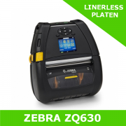 Zebra ZQ630 mobile printer with LINERERLESS PLATEN - BT 4 interface (ZQ63-AUFBE11-00)