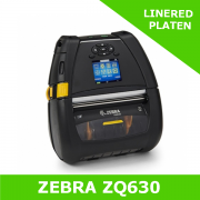 Zebra ZQ630 mobile printer with LINERED PLATEN - and BT 4 interface (ZQ63-AUFAE11-00)