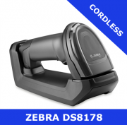 Zebra DS8178 1D/2D imager / BLACK / Bluetooth cordless with cradle (DS8178-SR7U2100SFW)