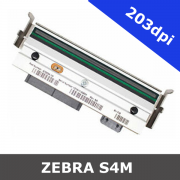Zebra S4M / 203dpi replacement printhead (G41400M)