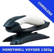 Honeywell Voyager 1202g scanner / WHITE / Bluetooth cordless / USB cradle (1202G-1USB-5)